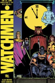 Watchmen Hardcover HC Graphic Novel Book DC Comics